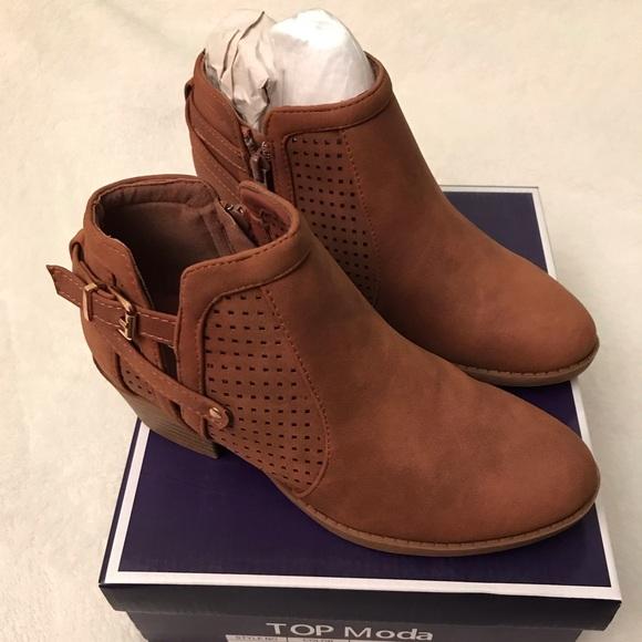 Top Moda Ankle Booties   Poshmark